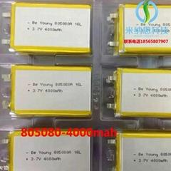 深圳厂家供应聚合物电芯1260100-10000mah