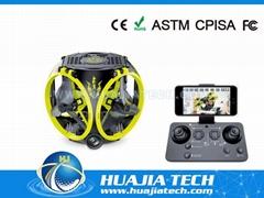 2.4GHz 4CH Foldable Mini Drones 480P Wifi HD Camera RC Quadcopters Headless Mode