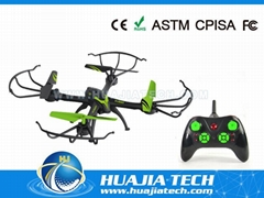 2.4G 4CH RC quadcopter with 6-axis gyro Headless Mode big size drone Camera toys