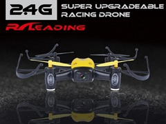 2.4GRC 4CH Quadcopter with 6-axis gyroscope 720P HD Camera drone toysFour-axis3D