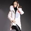 Fur collar women down jacket 1