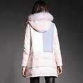Fur collar women down jacket 5