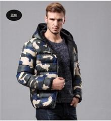 3 Colors Men Cotton Camouflage Jacket