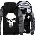 4 Colors Men Skull Cotton Jacket
