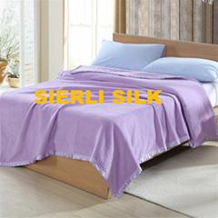 Silk Blanket Throw