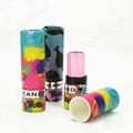 Custom mini eco packaging paper empty lip balm tube 3