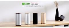 厂家供应便携式智能USB车载空气净化器