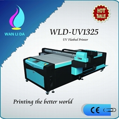 NEW DESIGN WLD-UV1325 UV FLATBED PRINTER