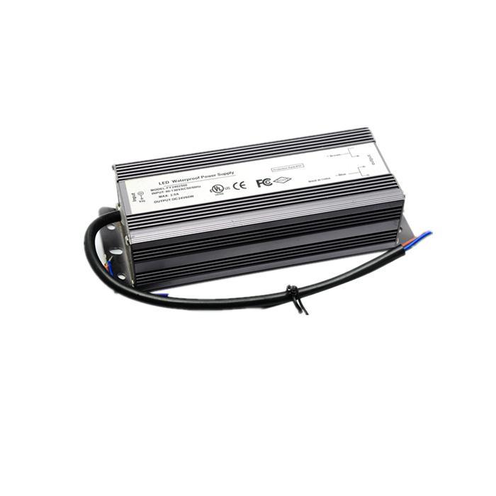 UL waterproof 100W 200W 300W LED driver dimmable