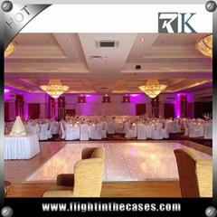 RK disco led dance floor star light dance floor for Wedding decoration
