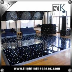 RK used led dance floor portable led dance floor for sale for wedding