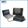 Multifunction rohs solar charger instruction mobile solar laptop charger