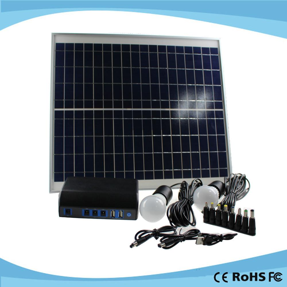 Multifunction rohs solar charger instruction mobile solar laptop charger 2