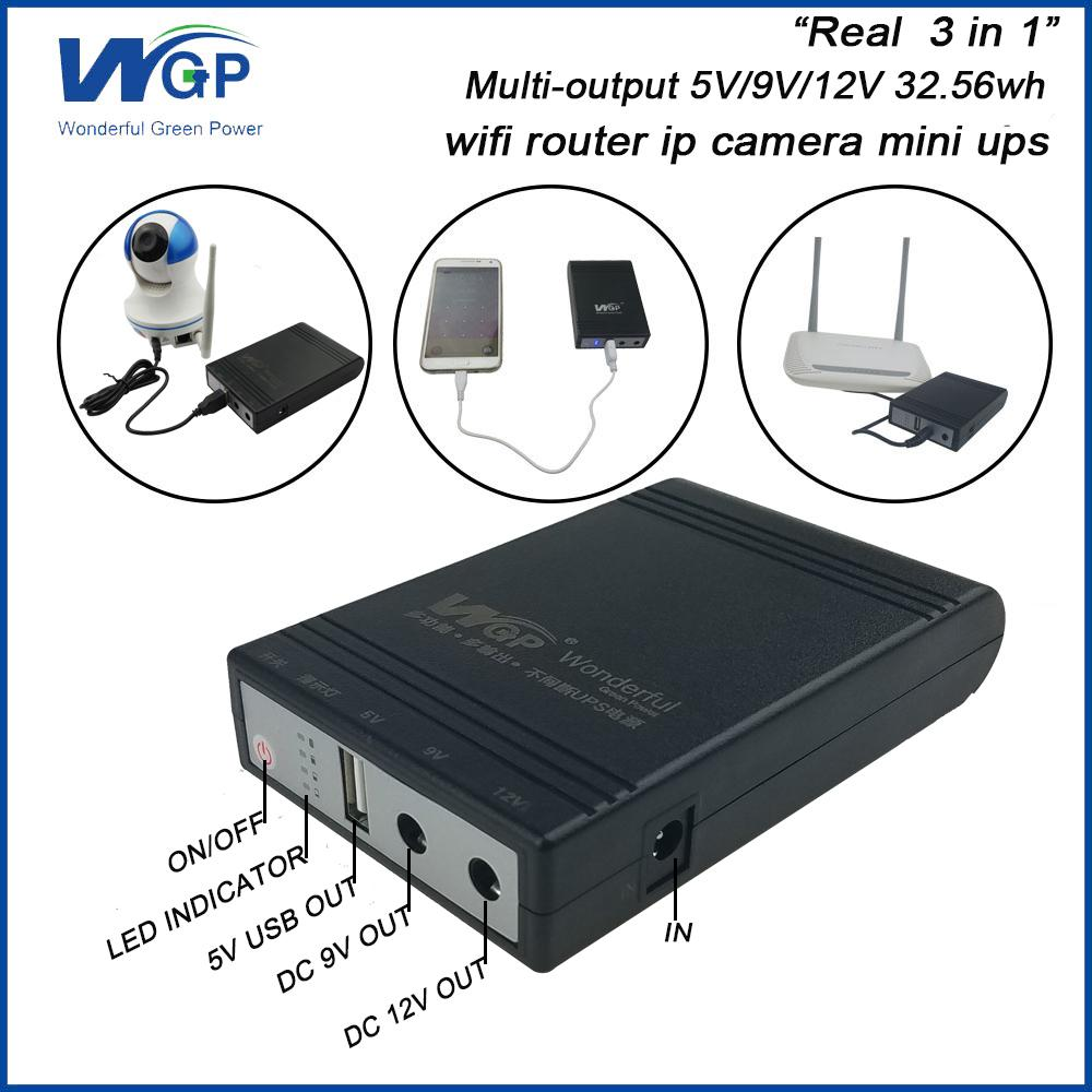 Rohs certificated wallet size portable wireless router power bank 5v 9v 12v mini 1