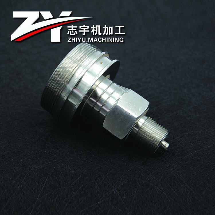 泰州304不鏽鋼接頭定製加工 1