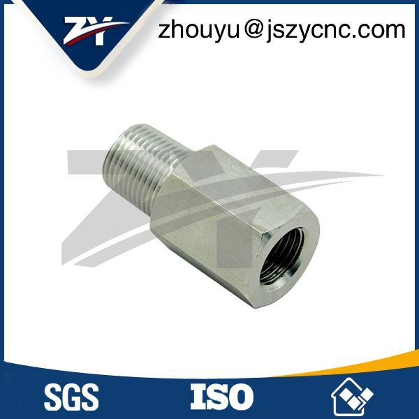 G1/2外螺紋不鏽鋼管接頭加工 1
