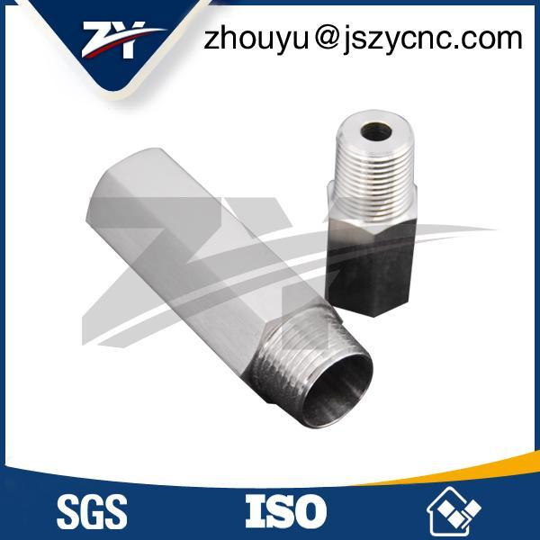 G1/2外螺紋不鏽鋼管接頭加工 3