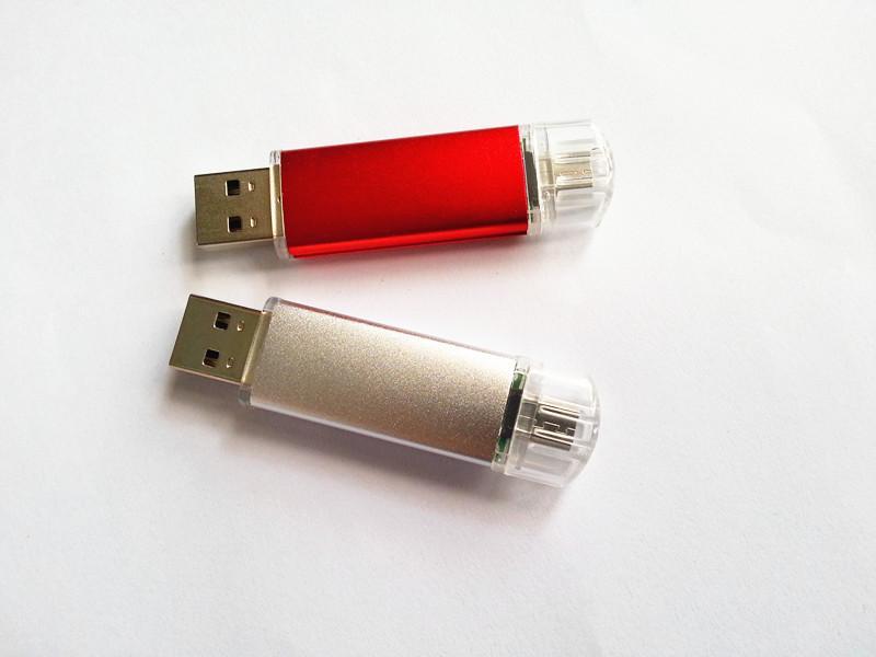 Popular mobile phone OTG USB Flash Drive, mobile phone OTG U disk 4G 8G 16G  2