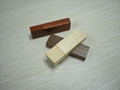 Wooden Material and 128MB~128GB Capacity 3 in 1 USB U Disk 64gb 3