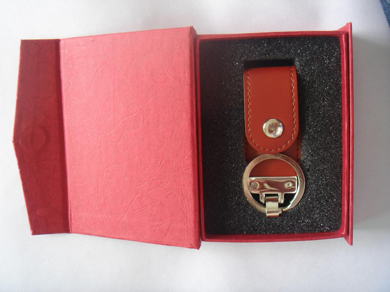 Custom Promotional High Quality Leather USB Disk 2
