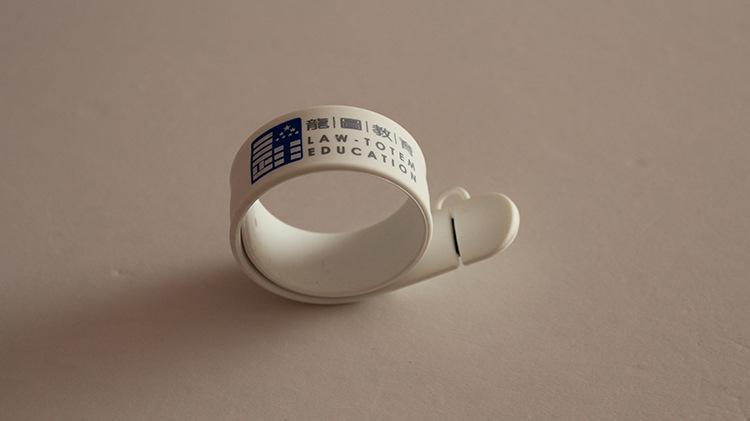 Funny Silicone Slap Bracelet USB Flash Disk 4