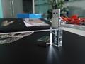 透明發光水晶U盤 高檔3d內雕