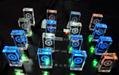 透明發光水晶U盤 高檔3d內雕logo水晶優盤 工廠定製LED燈紅藍綠白 5