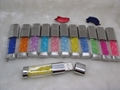 水晶U盤+水晶筆套裝商務禮品兩件套可定製LOGO廠家直銷 可單賣U盤 4