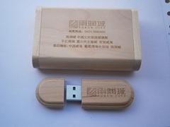 廠家定製個性木質u盤