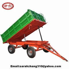farm dump trailer 5ton hydraulic tipping