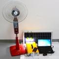 便携太阳能发电机照明小系统 户外220V交直流逆控一体机储能电源 5