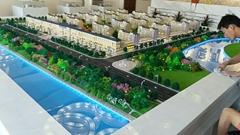 內蒙通遼吉林遼寧房地產沙盤規劃沙盤模型製作