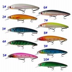 11cm/14g minnow hard fishing lure