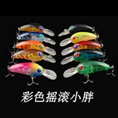 10 colors crankbai fishing lure hard lure