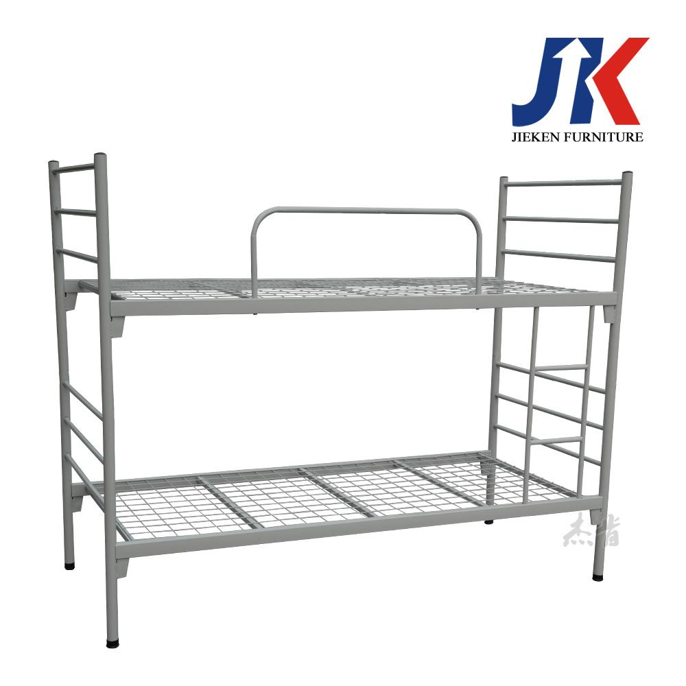 Cheap dormitory adult metal frame bunk beds for office school or army 3