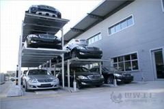 江西南昌室外大型自動停車場設備