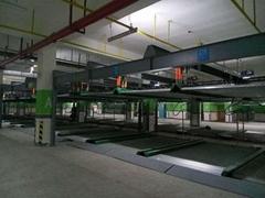 江西南昌室外自動化停車庫設備 多層立體車庫生產安裝報檢
