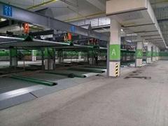 江西南昌醫院大型室內能立體停車庫設備
