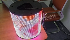 shenzhen new promotion high quality see through led display flexible in china