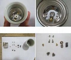 ceramic/porcelain  lampholder E27