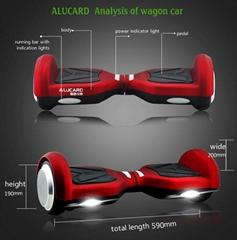 爱路卡登智能平衡车 两轮扭扭车 电动滑板车厂家直销