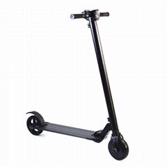 爱路卡登电动滑板车6.5寸折叠代步车限位缓冲款平行车