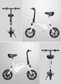 爱路卡登折叠电动自行车迷你手提款两轮电动自行车 2