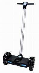 爱路卡登手扶平衡车可调节支杆两轮代步车自平衡