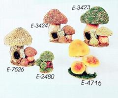 Decoration ornament mushrooms