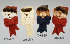 Handicraft bear