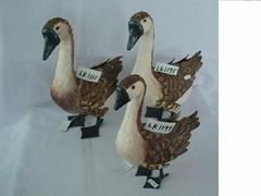 Handmade goose
