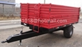 5 tons agricultural tipping trailer farm
