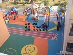 燕郊碩馳幼儿園拼圖牆貼