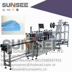 Automatic non-woven face mask making machine